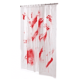 Bloody Shower Curtain ($8)