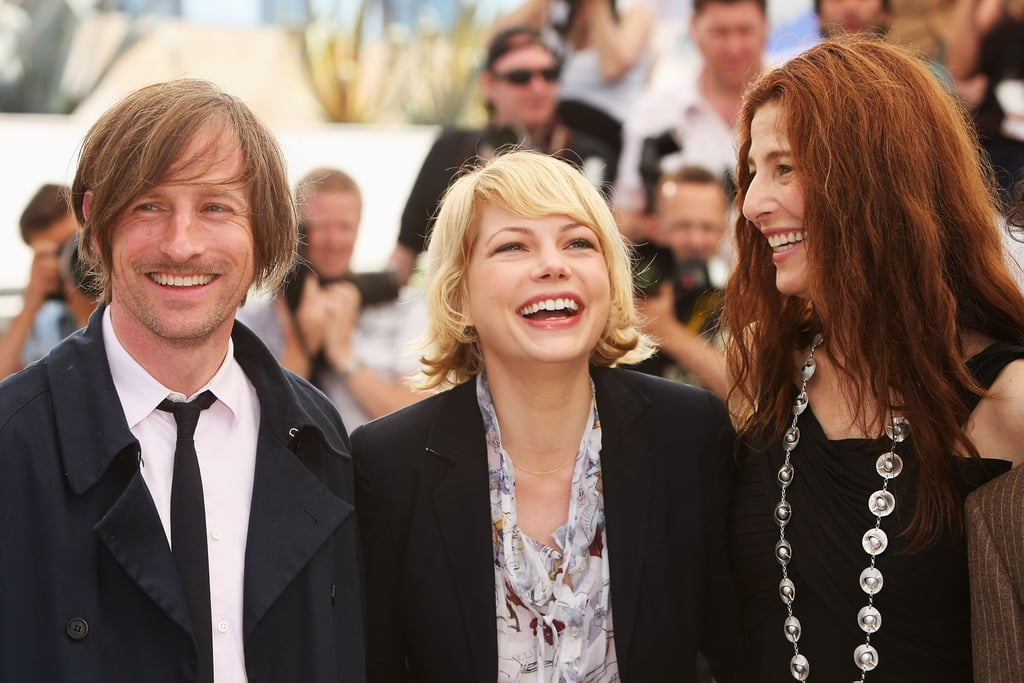 Michelle Williams teamed up with Spike Jonze and Catherine Keener in France in May of 2008 at the Cannes Film Festival.