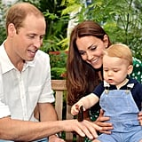 When He Showed Prince George a Butterfly