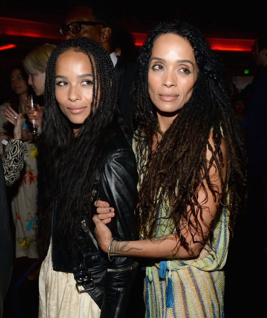 """Let's be real: Zoë Kravitz has inherited some of the best genes in the business. Between her rocker dad, Lenny, and her bohemian actress and musician mum, Lisa Bonet, Zoë's inner and outer beauty can't be denied. In a recent interview, Zoë opened up about why she idolises her mother particularly: """"She kind of stumbled into [the acting] world. It wasn't a conscious choice (a) to be an actress, (b) to be a famous actress, and (c) to be — she shook things up — a model for so many young women. The beautiful thing about her is that she just thought a certain way and lived her life that way."""" We've rounded up Lisa and Zoë's cutest snaps — the ones that always make us do a double take to figure out whether they're actually mother and daughter or some sort of sorceress sisters.       Related:                                                                                                           Jason Momoa's Hands-Down Cutest Moments With His Stepdaughter, Zoë Kravitz"""