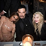 Pictured: Beyonce Knowles, Madonna, and Riccardo Tisci