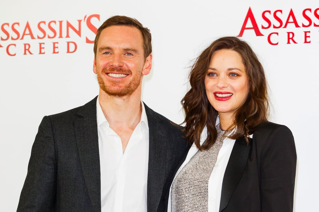Michael Fassbender and Marion Cotillard in London