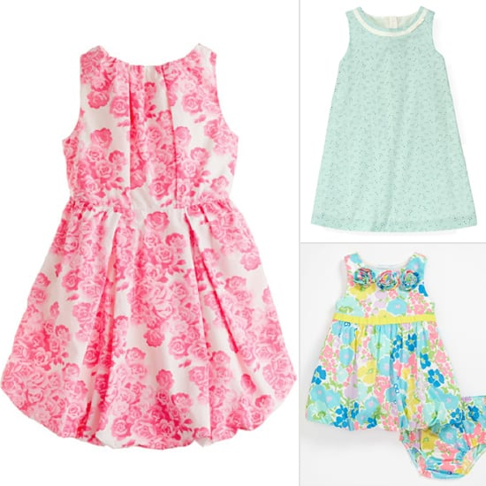 """I have two baby showers and Easter coming up in the next few weeks so I headed to Nordstrom to search their Easter dresses. In a recent post about a restyling a casual Spring dress I talked about how much I love the curbside pick-up at Nordstrom but this weekend we had 20 degree temps so I packed up my whole fam to head to the mall for """"exercise""""."""