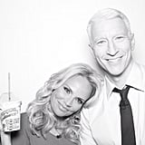 Anderson Cooper shared a photo with friend Kristin Chenoweth.  Source: Instagram user andersoncooper
