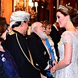 Kate Middleton and Prince William at Queen's Reception 2018