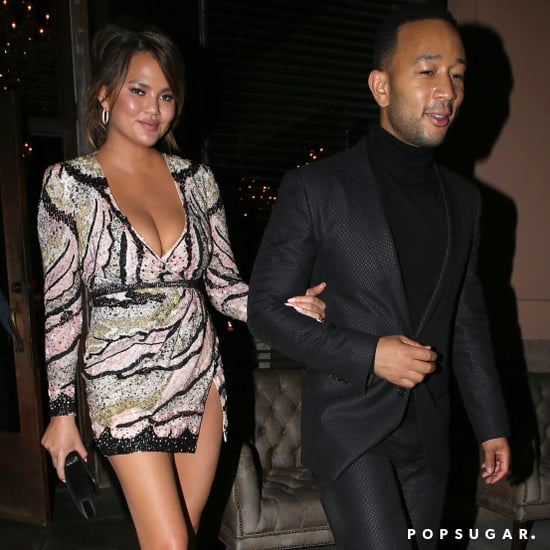 Chrissy Teigen Dress People's Choice Awards 2018