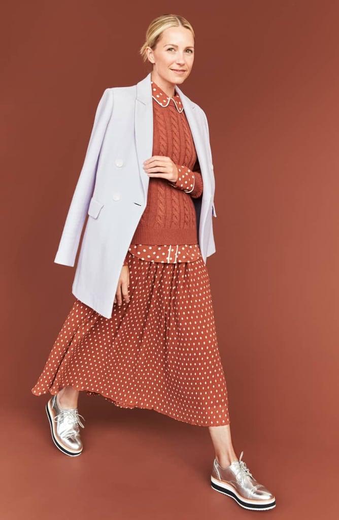 ed99a21e3 Halogen x Atlantic-Pacific Crinkle Midi Skirt | New Halogen x ...