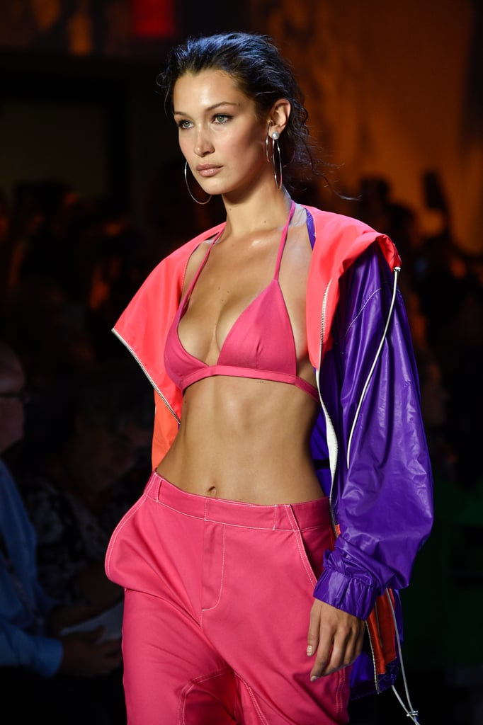 Bella Hadid at the Prabal Gurung Show During NYFW in September 2018