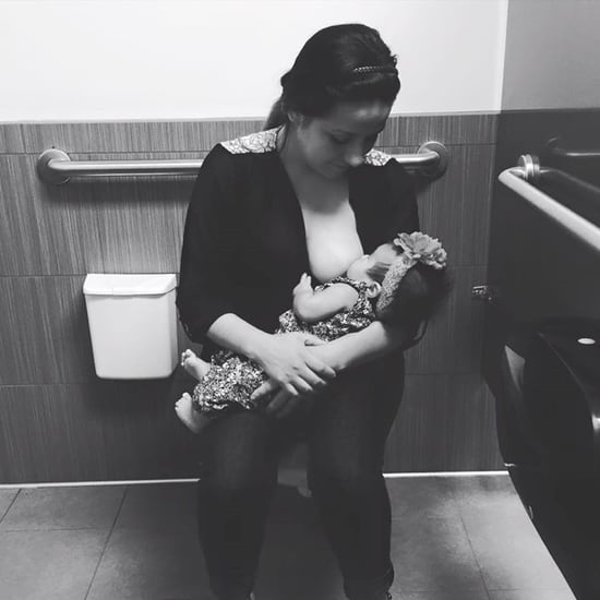 Woman Forced to Breastfeed in Marshalls Bathroom