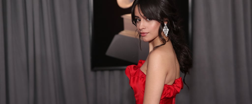 Camila Cabello's Grammys Dress Is Sexy, but It's Her Disco Ball Purse That Will Catch Your Eye