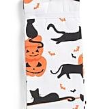Set of Three Cats and Bats Kitchen Towels