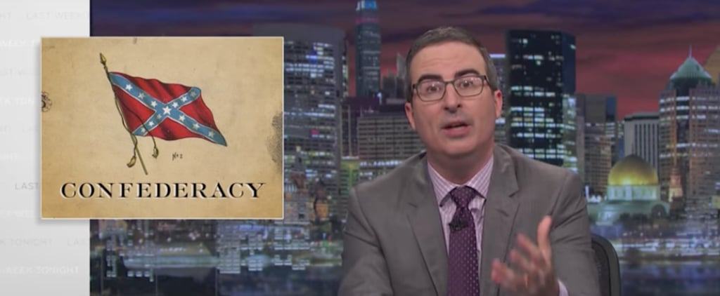 John Oliver Expertly Dismantled Every Single Argument For Keeping Confederate Monuments