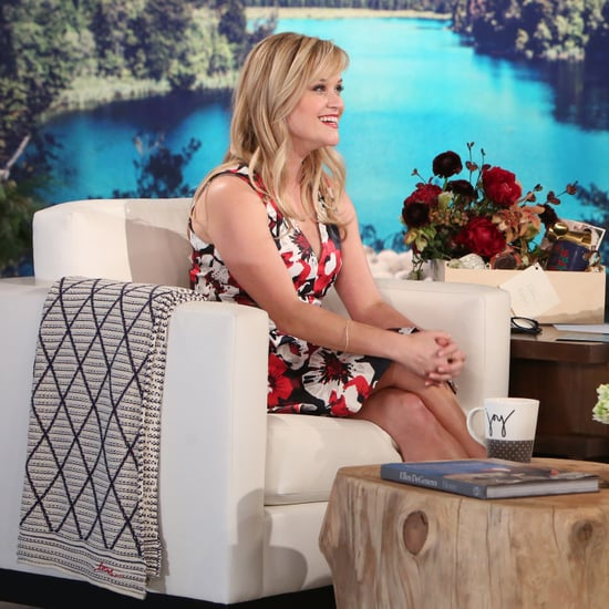 Reese Witherspoon on The Ellen DeGeneres Show December 2016