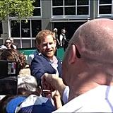 Matt de Groot upstages Prince Harry!!!
