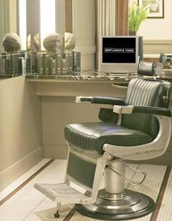 Selfridges Launch Gentleman's Tonic Men Only Grooming Spa Salon