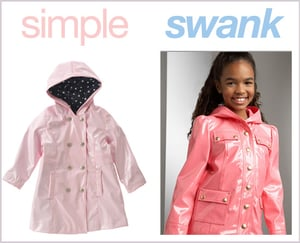 Simple or Swank Raincoats