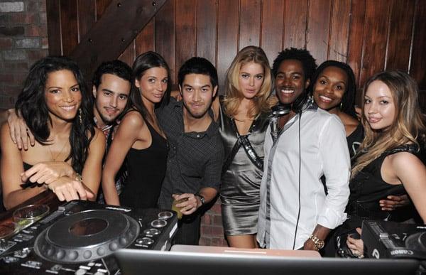 Models and DJs