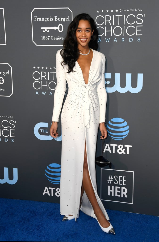 Laura Harrier at the 2019 Critics' Choice Awards