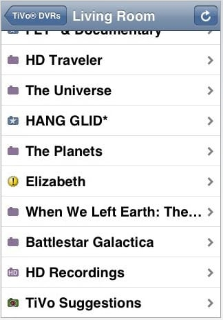 iPhone App You Need: DVR Shows