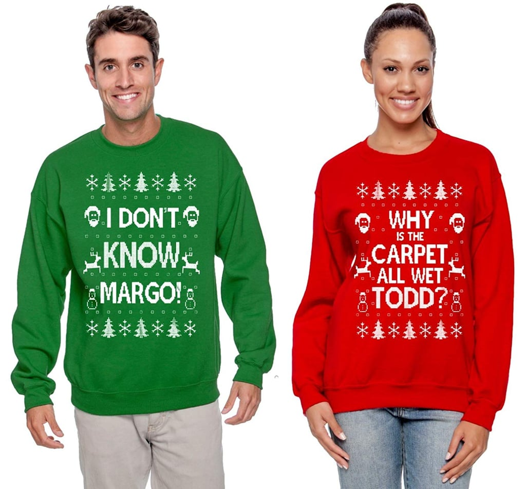 Couples Christmas Sweaters.Ugly Christmas Sweaters For Couples 2018 Popsugar Love Sex