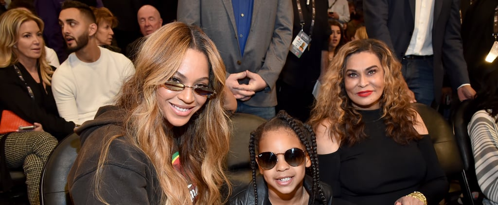 Blue Ivy Carter Does Tina Knowles-Lawson's Makeup