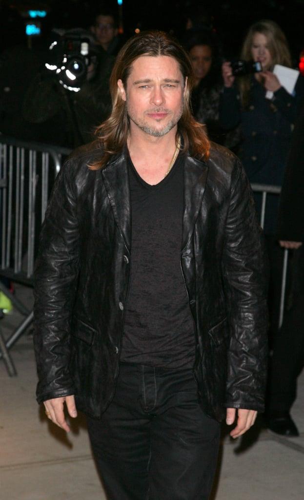 Brad Pitt Premieres Killing Them Softly in NYC