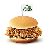 Pictured: another of KFC's fried chicken menu options (complete with pickles for flavor).