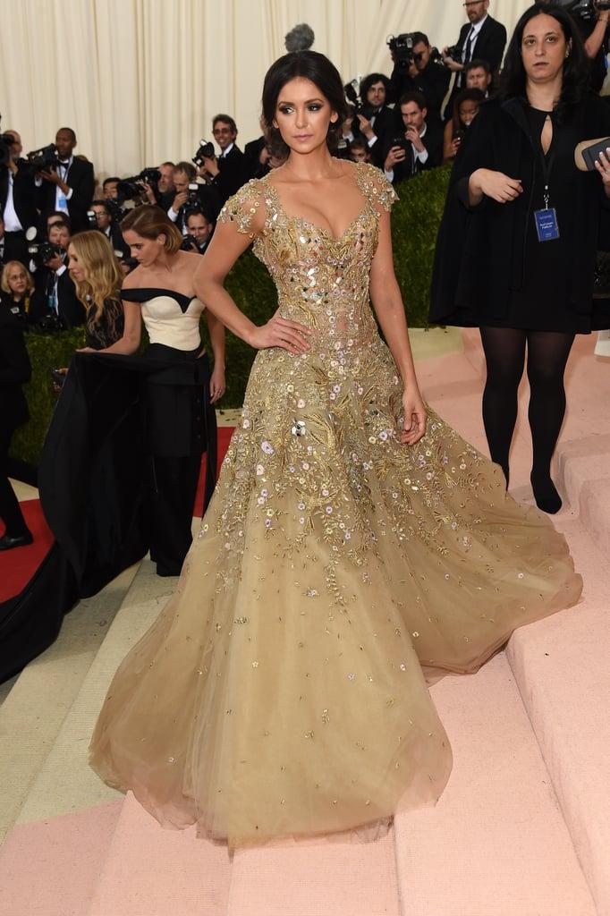 Nina Dobrev's Dress at Met Gala 2016