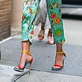 Olivia Munn Sexy Shoes