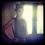 Rosie Huntington-Whiteley took a self-portrait. Source: Instagram user rosiehw