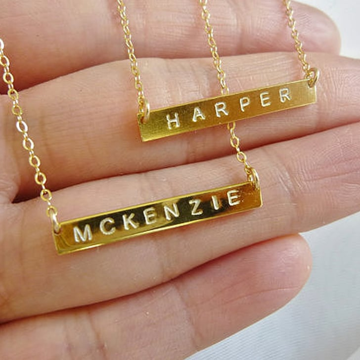 Personalized Mom Jewelry POPSUGAR Moms