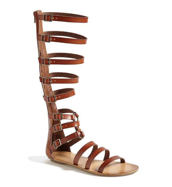 Madden Girl Knee-High Gladiator Sandals