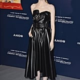Emma Stone at the Paris Premiere of The Amazing Spider-Man 2 in 2014