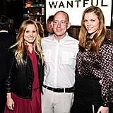 Kristen Bell and Brooklyn Decker took photos with Wantful founder John Poisson.