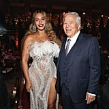 Beyoncé Knowles and Robert Kraft at The Shawn Carter Foundation Gala