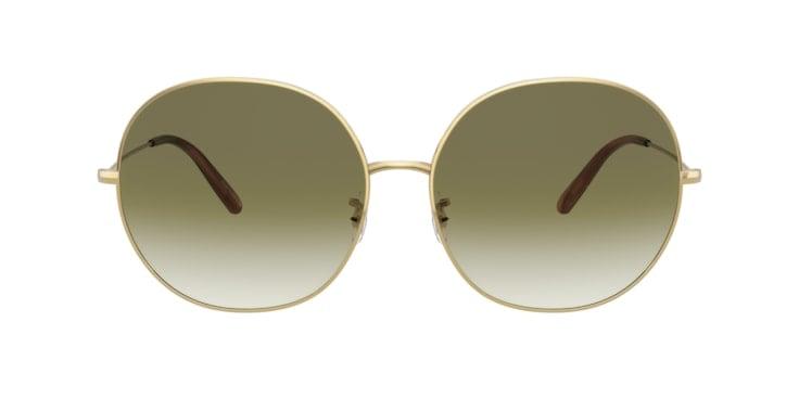 Oliver Peoples OV1280S Sunglasses Olive Gradient Metal
