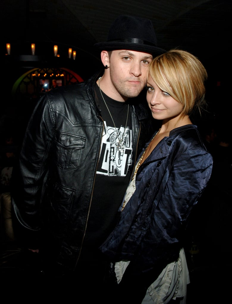 Nicole Richie and Joel Madden got together at an NYC party in September 2007.