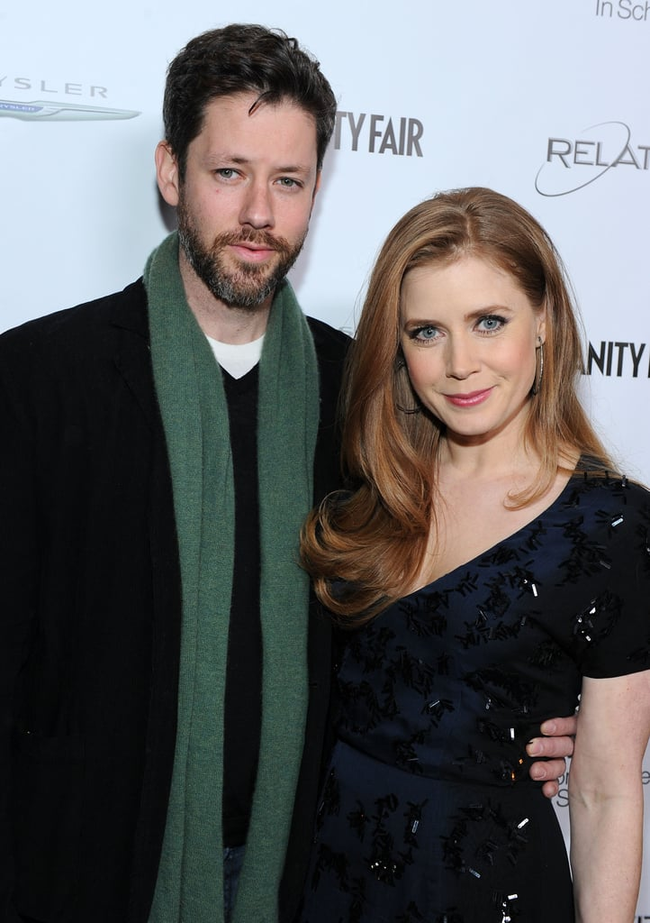 Amy Adams was the guest of honour Monday at a party to celebrate The Fighter in Hollywood. The event, hosted by Vanity Fair and Chrysler, benefited local schools. The actress was joined by her fiancé Darren Le Gallo on the red carpet and toasted by fellow celebs like Channing Tatum and Jenna Dewan, Ali Larter, Gerard Butler, and Helen Mirren at the soiree, where a few guests even tried on a prizefighter belt for size! Amy is back home in LA after attending the BAFTAs earlier this month. She didn't take home a statuette at the ceremony, but she's still up for an Academy Award for her role in the film, which also earned a best picture nomination.
