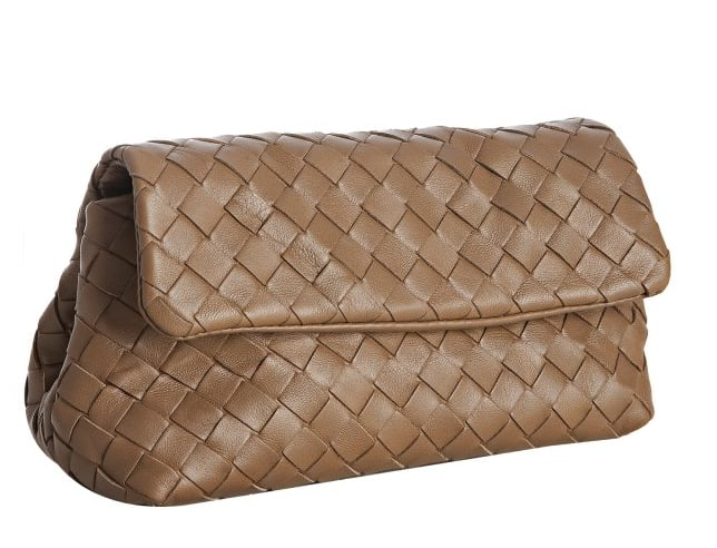 Bottega Veneta Chene Clutch/Cosmetic Case ($448)