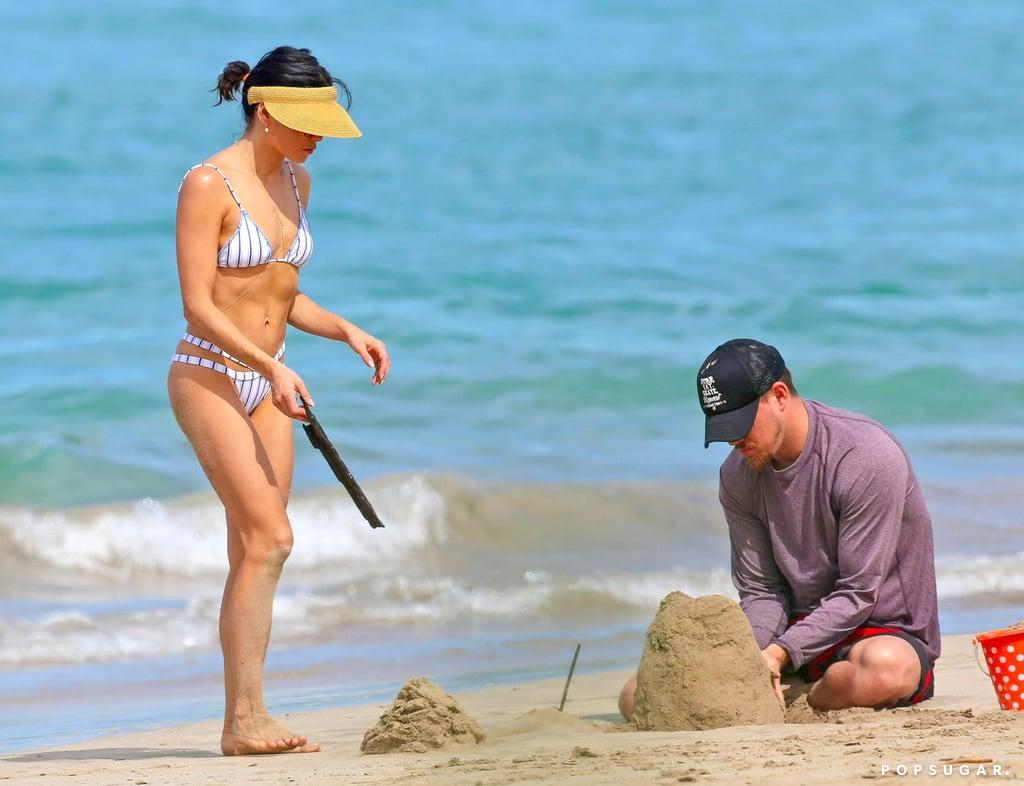 Channing Tatum and Jenna Dewan on the Beach in Hawaii 2017