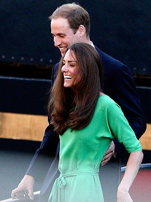 Kate Recycles Her Green DVF Dress for Zara Phillips's Yacht Party
