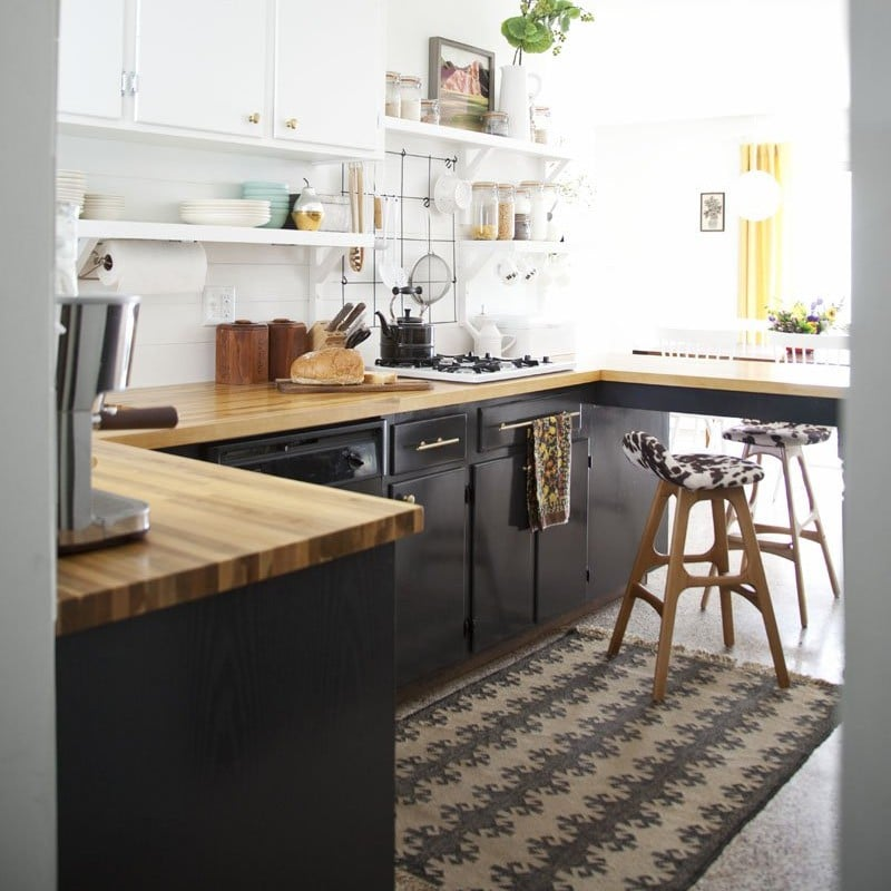Using Too Much Open Shelving | How To Decorate A Small Kitchen | POPSUGAR  Home Photo 1