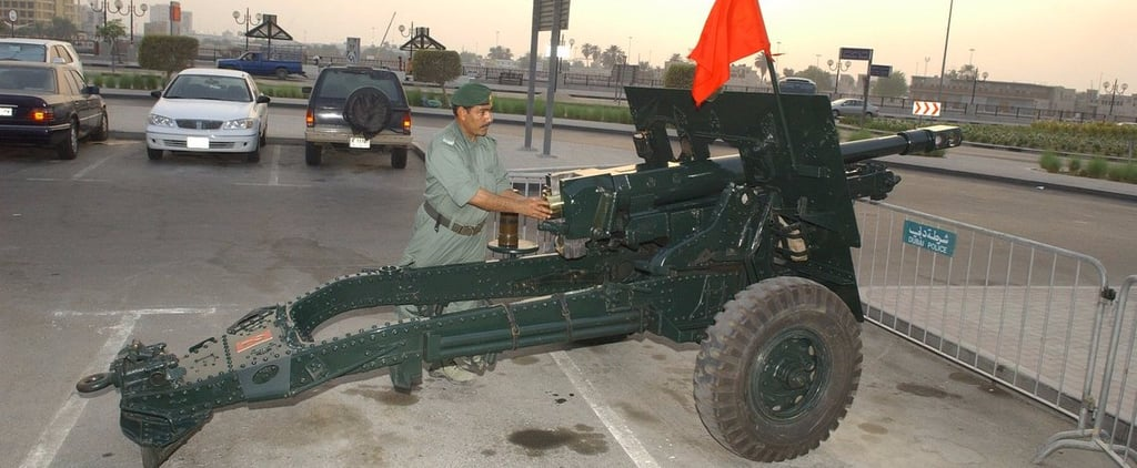 Dubai Police Have Extra Cannon in Case of Ramadan Emergency
