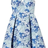 Adrianna Papell Gloria Jacquard V-Neck Fit & Flare Dress