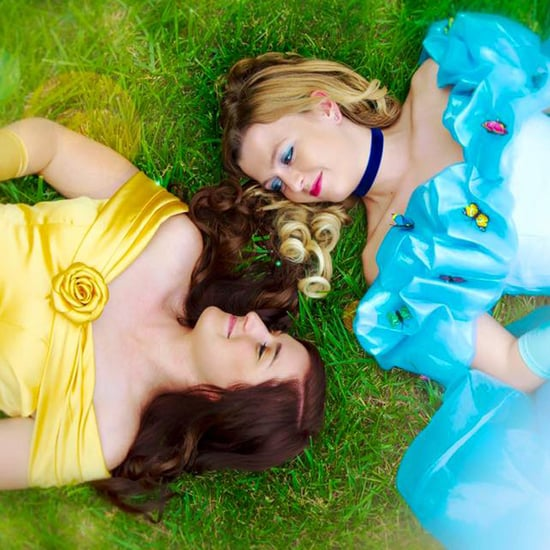 Disney Princess Engagement Shoot
