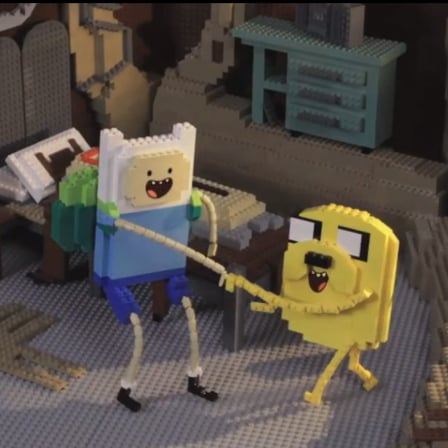 Adventure Time in Lego