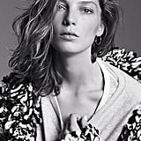 Daria Werbowy in the first campaign photo to be released. Photo courtesy of H&M