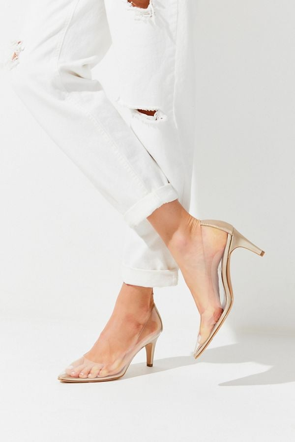 UO Clear Pumps