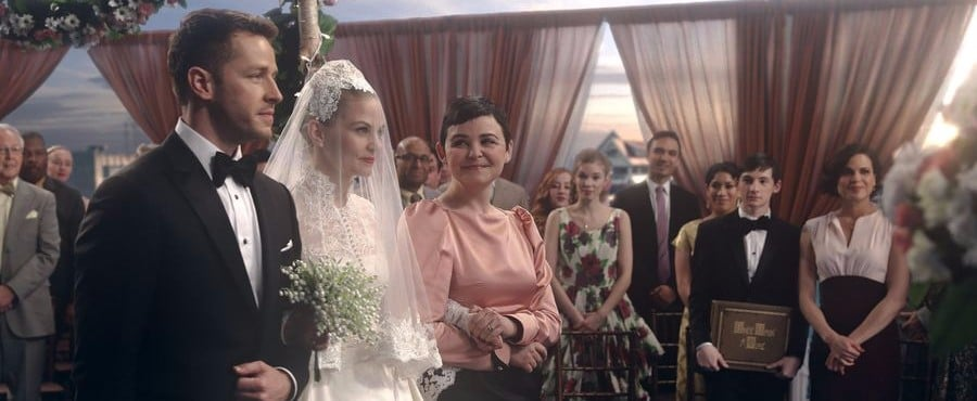 Once Upon a Time's Emma Swan Got Married in the Ultimate Fairy-Tale Wedding Dress