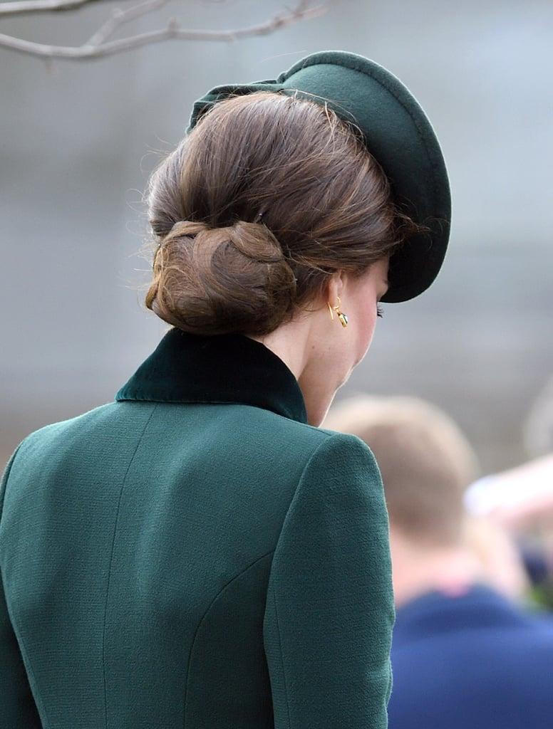 Kate Middleton's Chignon Hairstyle